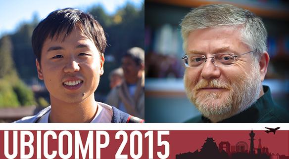 UW CSE Best Student Paper at UbiComp2015