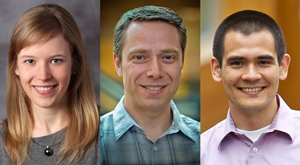 UW CSE professors Franzi Roesner, Dieter Fox and Yoshi Kohno
