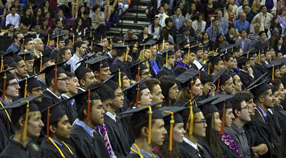 UW CSE graduates and families