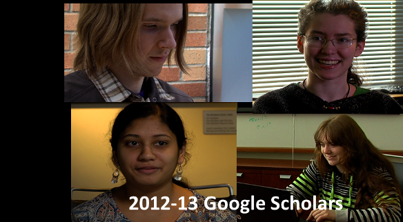 2013 Google Scholarship Recipients
