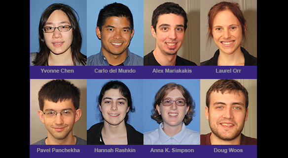 UW CSE recipients of 2015 NSF graduate research fellowships