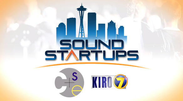"Logo for KIRO TV series ""Sound Startups"""