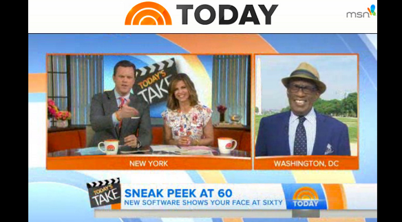 screen shot from the Today Show