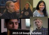 photos of 2013-14 Google scholars