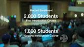 CSE 142 and CSE 143 enrollment statistics