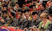 2012 graduates at graduation ceremony